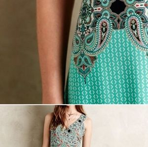 Anthropologie Dresses - OO Petite unique  Maevun dress to wear into Fall